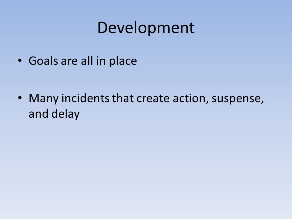 Development Goals are all in place