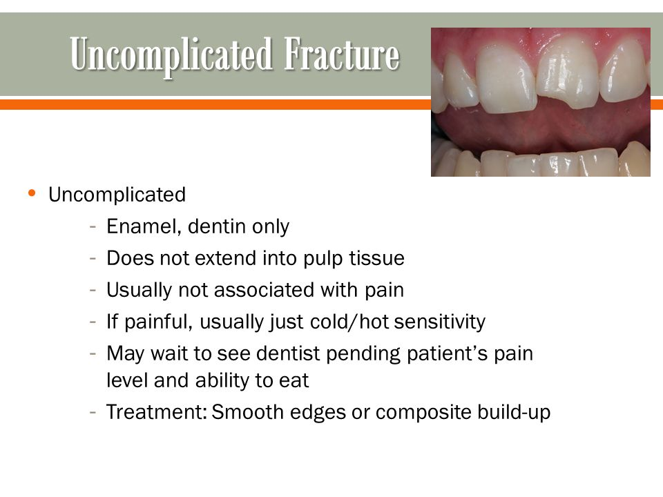 Uncomplicated Fracture