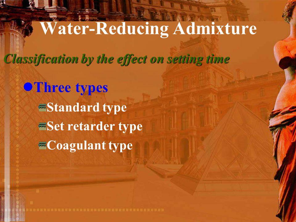 Water-Reducing Admixture