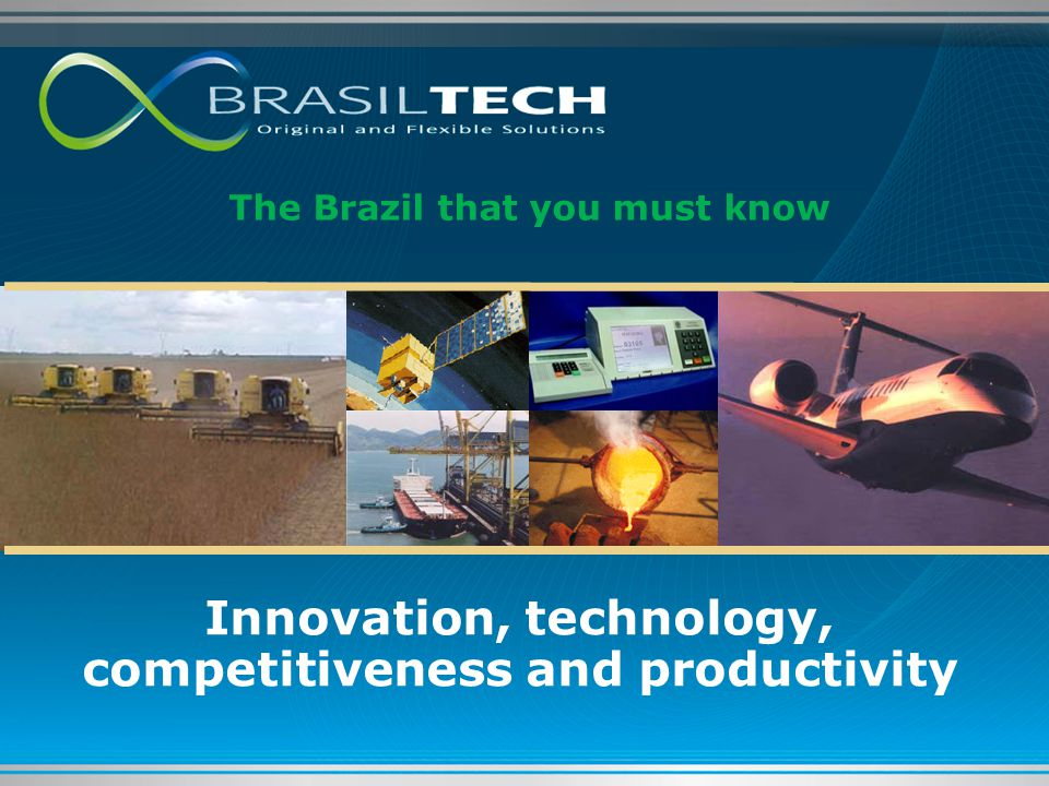 Innovation, technology, competitiveness and productivity
