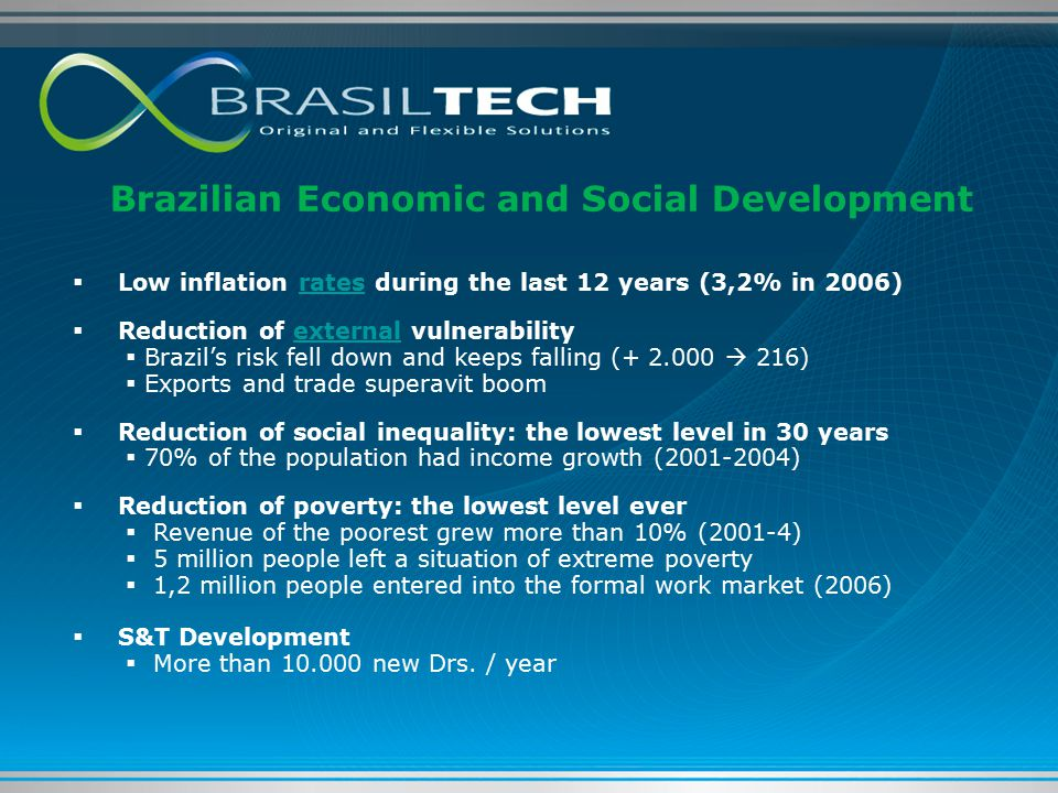 Brazilian Economic and Social Development