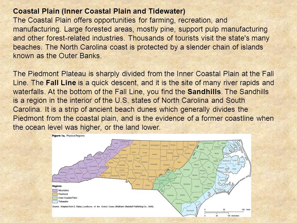Coastal Plain (Inner Coastal Plain and Tidewater)