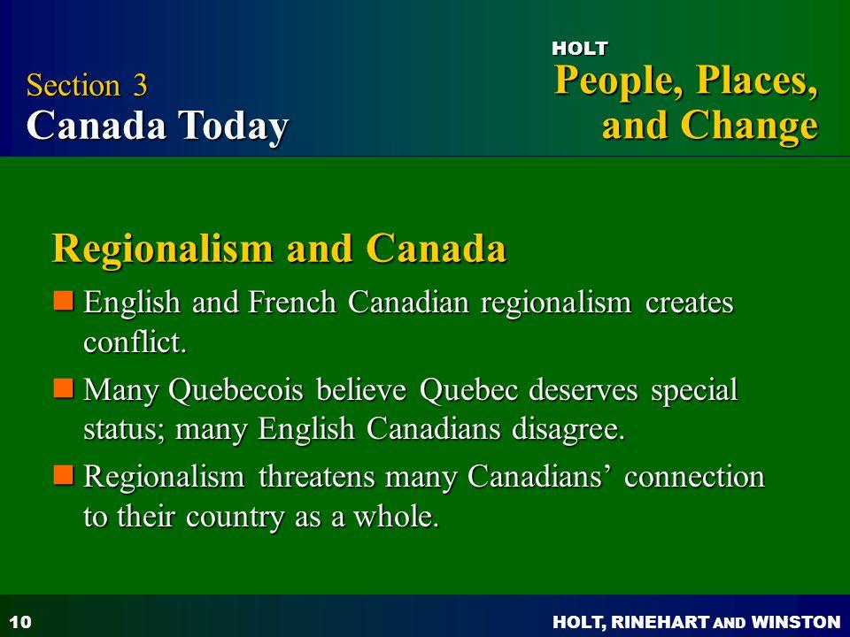 Regionalism and Canada
