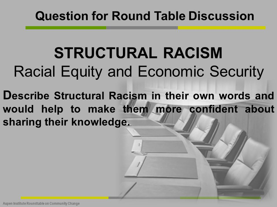 Racial Equity and Economic Security