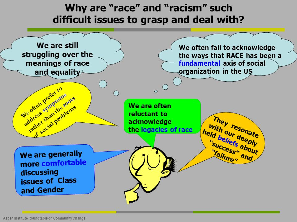 We are still struggling over the meanings of race and equality