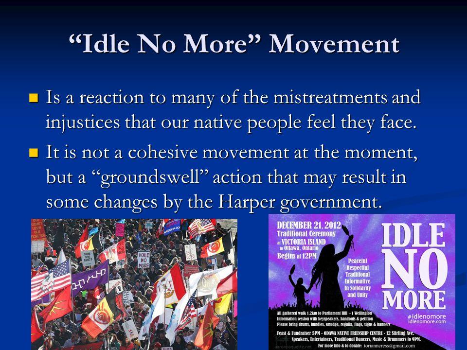 Idle No More Movement