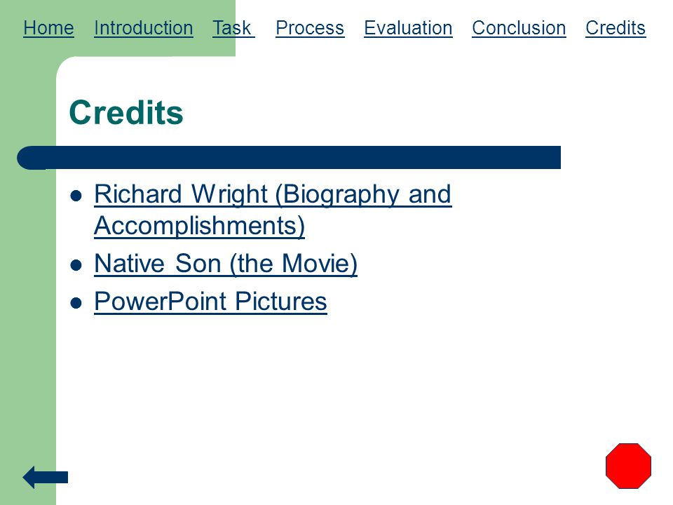 Credits Richard Wright (Biography and Accomplishments)