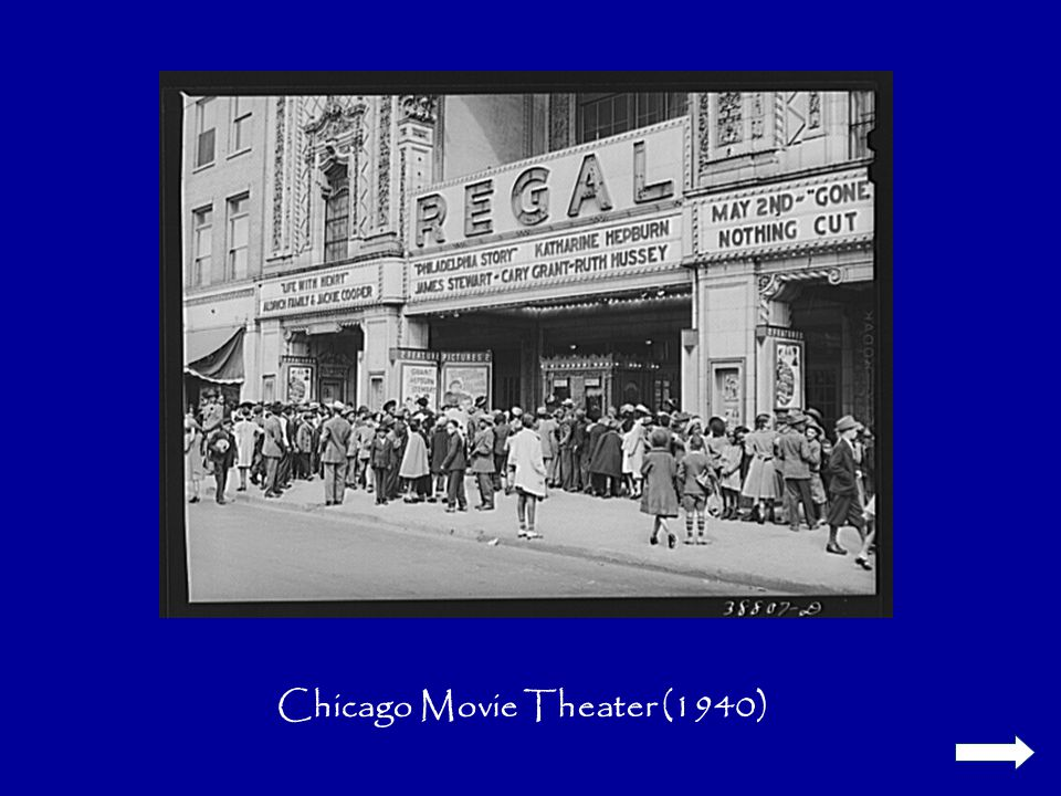 Chicago Movie Theater (1940)