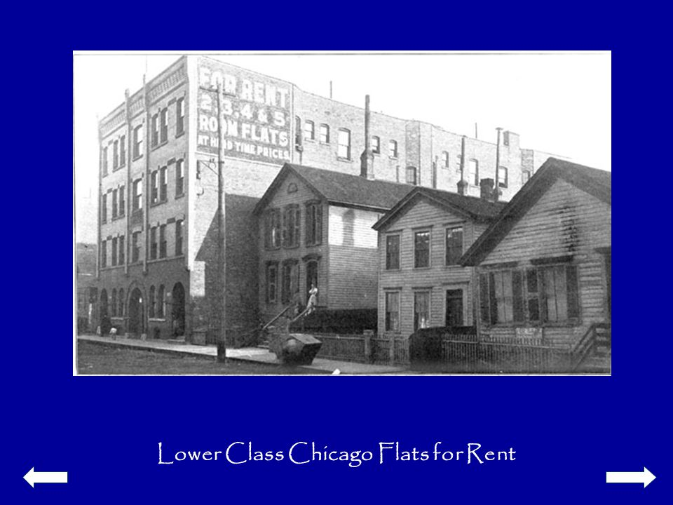 Lower Class Chicago Flats for Rent
