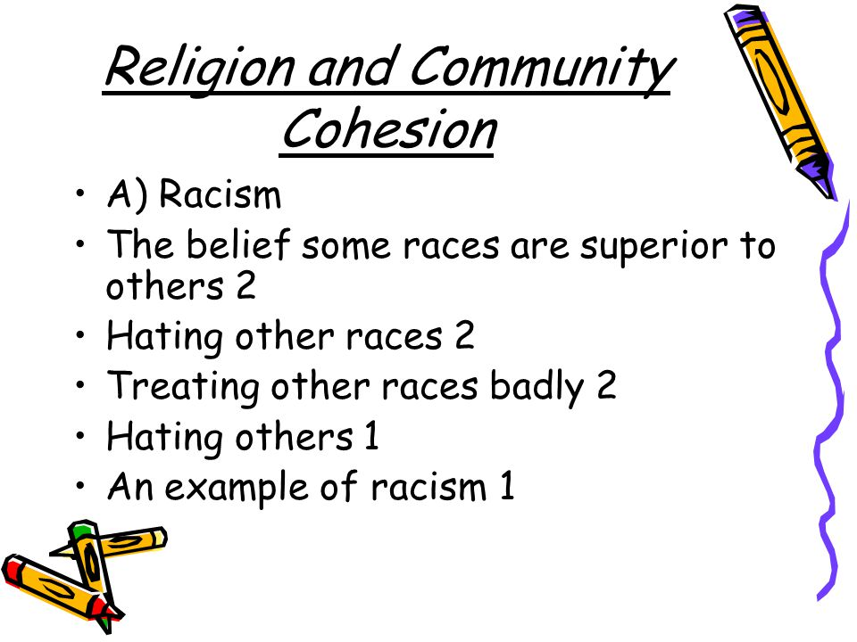 Religion and Community Cohesion