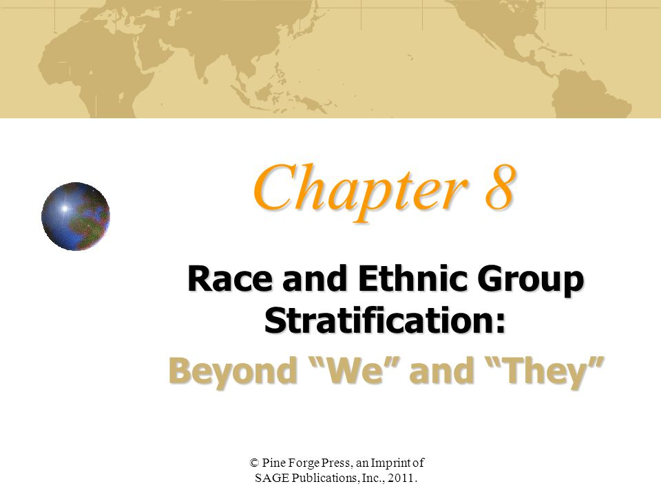 Race and Ethnic Group Stratification: Beyond We and They
