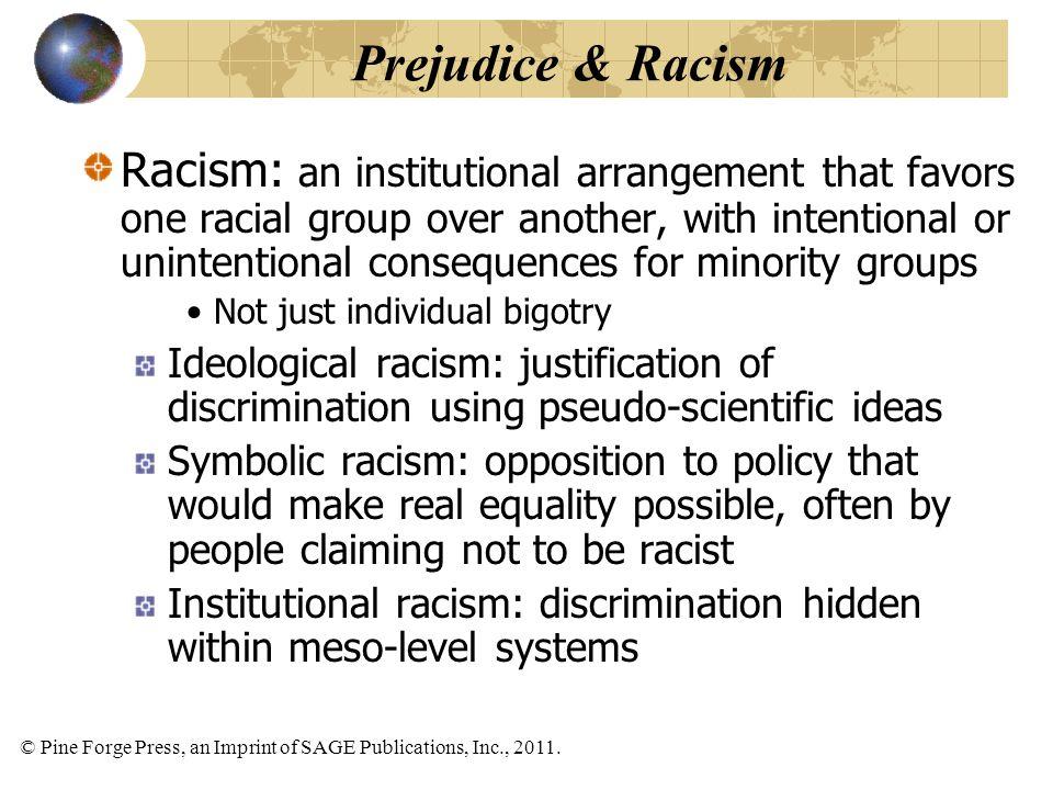 Prejudice & Racism