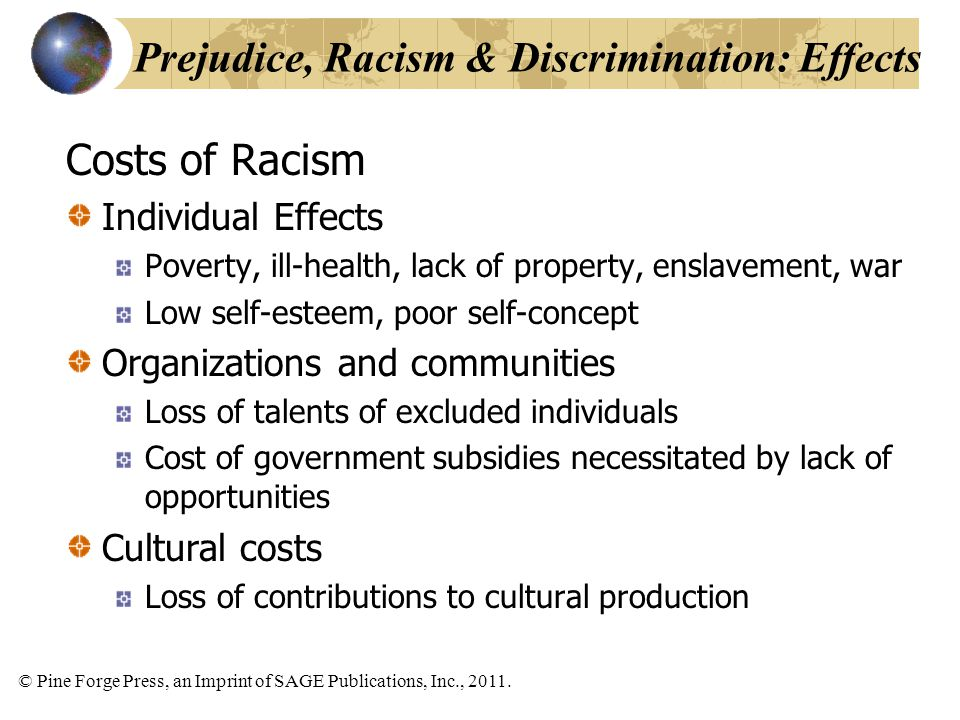 the effects of racism in the healthcare sector Or housing sectors were significantly associated with poor to fair health, lower   requires countering the effects of racism to reduce health disparities between.