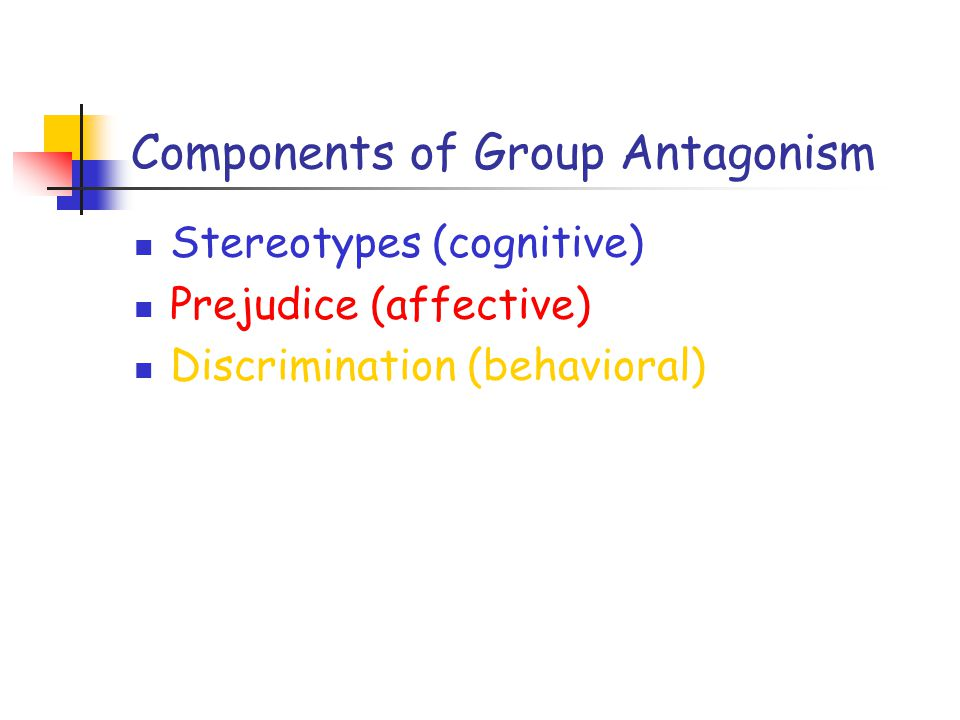 Components of Group Antagonism