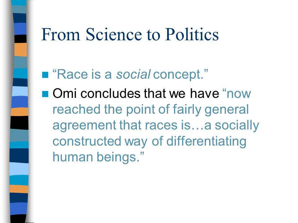 From Science to Politics