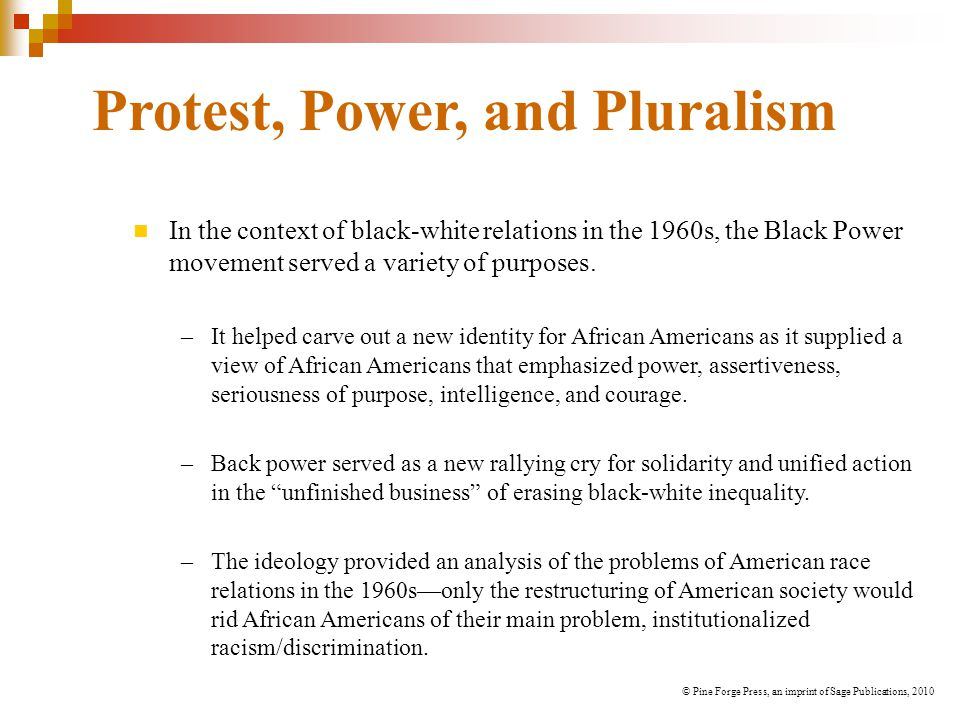 Protest, Power, and Pluralism