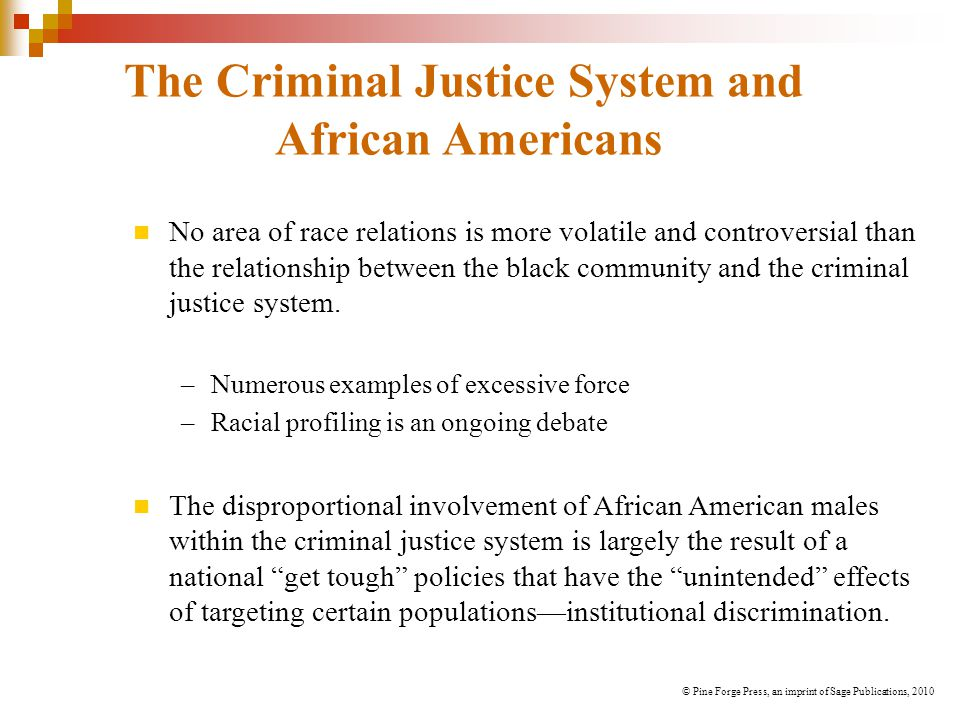 The Criminal Justice System and