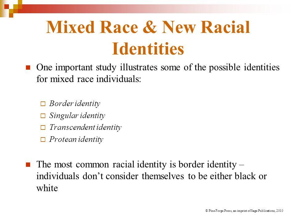 Mixed Race & New Racial Identities