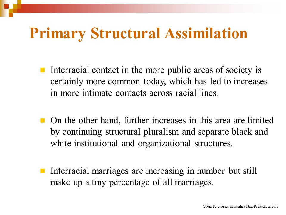 Primary Structural Assimilation