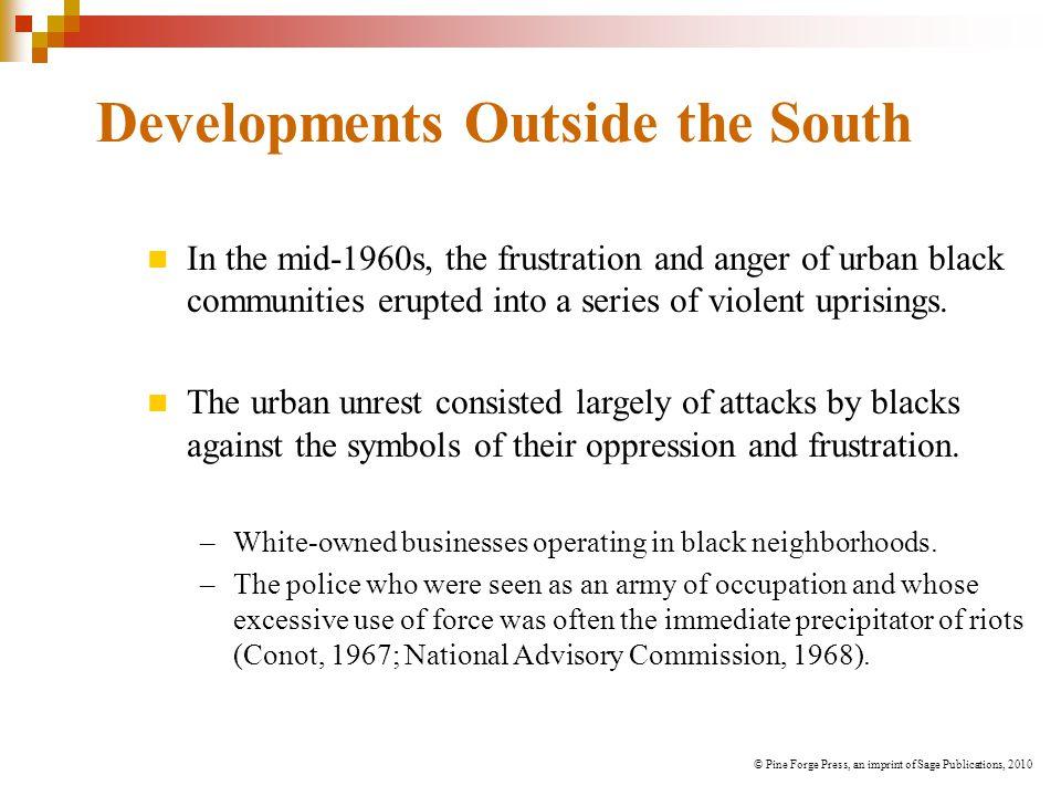 Developments Outside the South