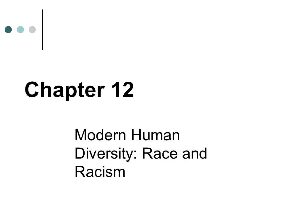 Modern Human Diversity: Race and Racism