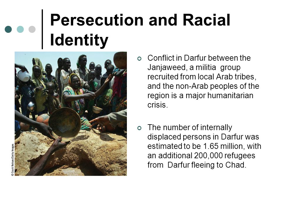 Persecution and Racial Identity