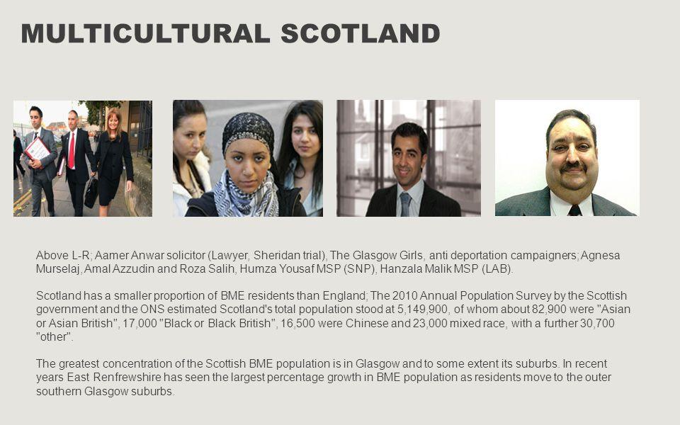 Multicultural Scotland