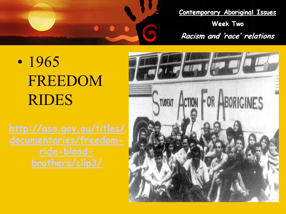 1965 FREEDOM RIDES http://aso.gov.au/titles/documentaries/freedom-ride-blood-brothers/clip3/
