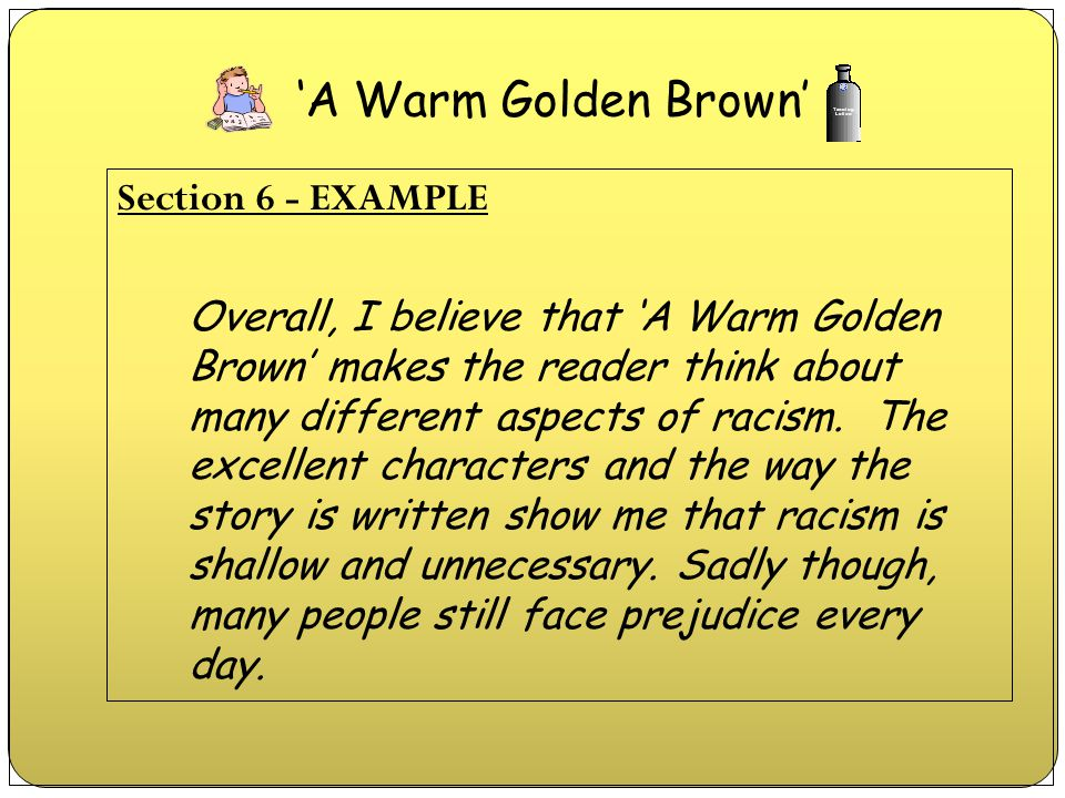'A Warm Golden Brown'