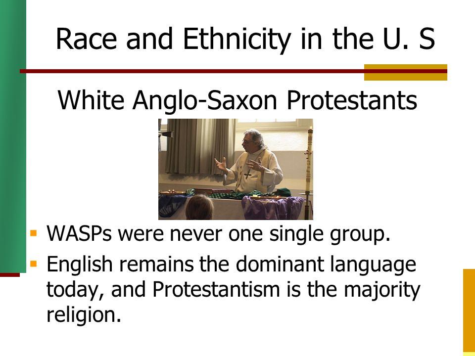 White Anglo-Saxon Protestants