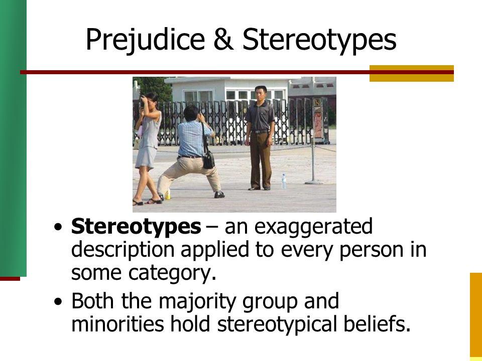 Prejudice & Stereotypes