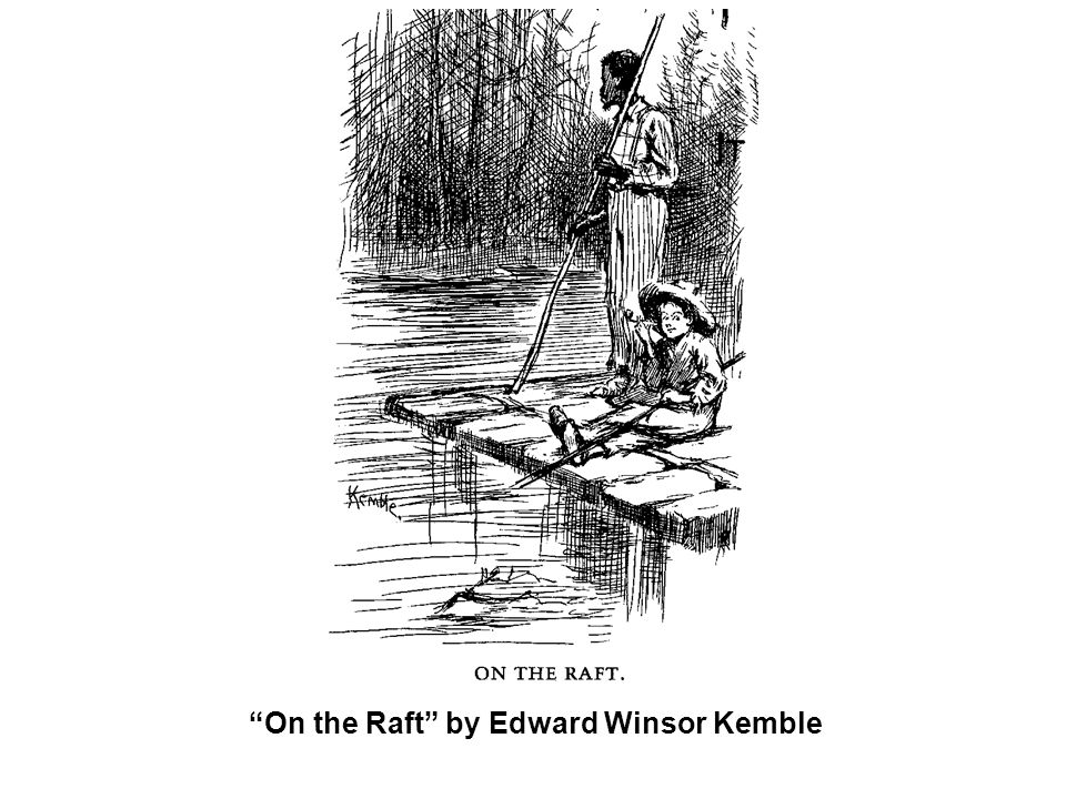 On the Raft by Edward Winsor Kemble