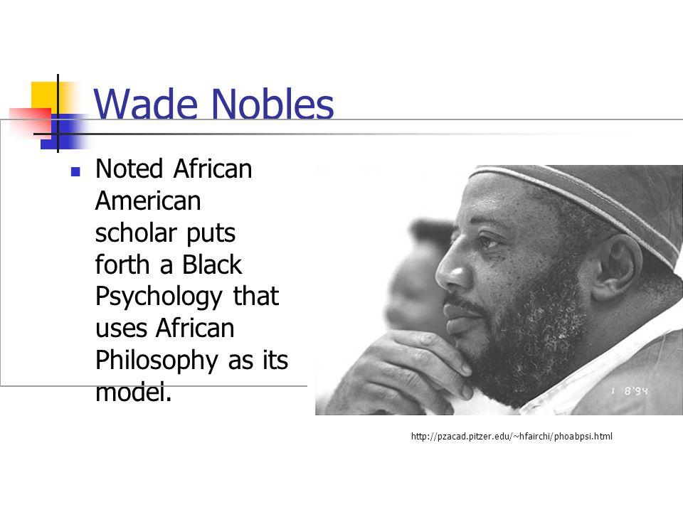 Wade Nobles