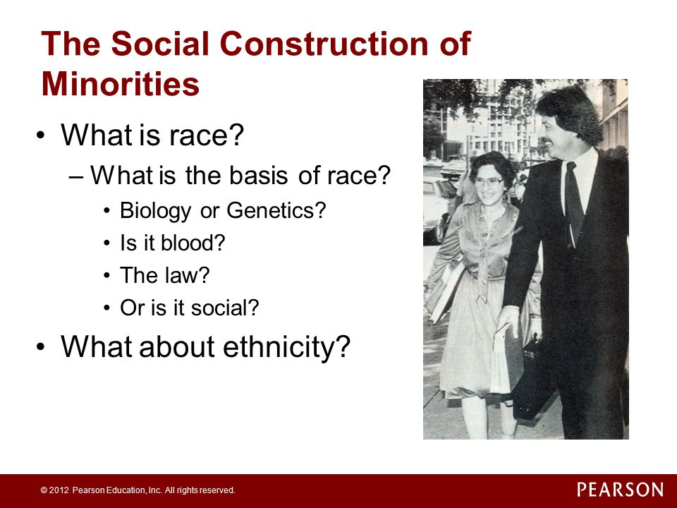 The Social Construction of Minorities