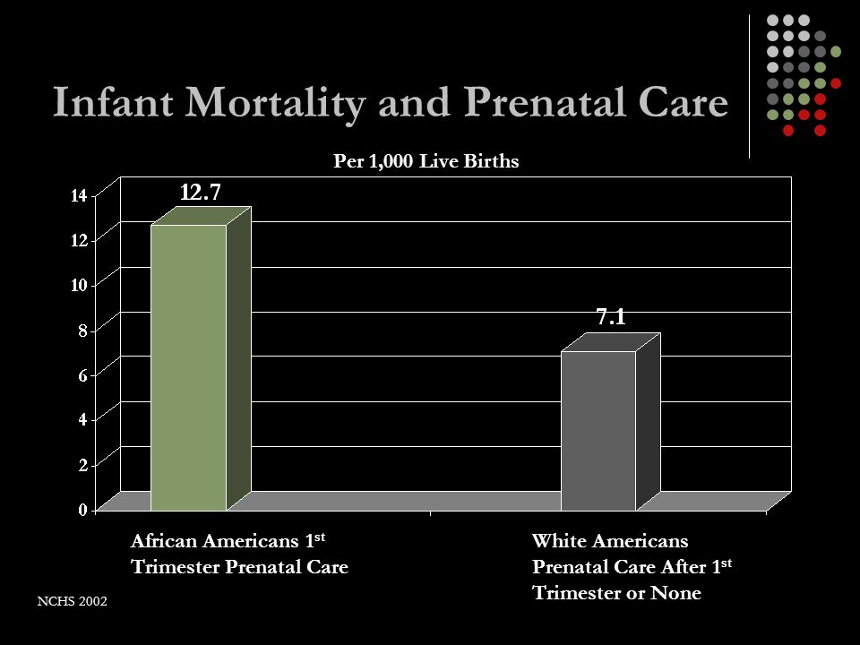 Infant Mortality and Prenatal Care