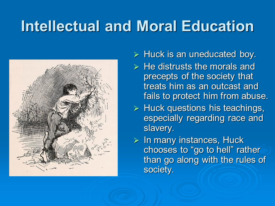 Intellectual and Moral Education