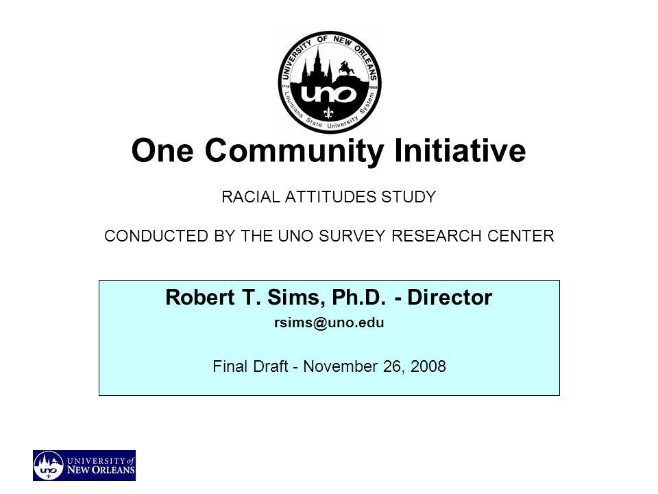 Robert T. Sims, Ph.D. - Director