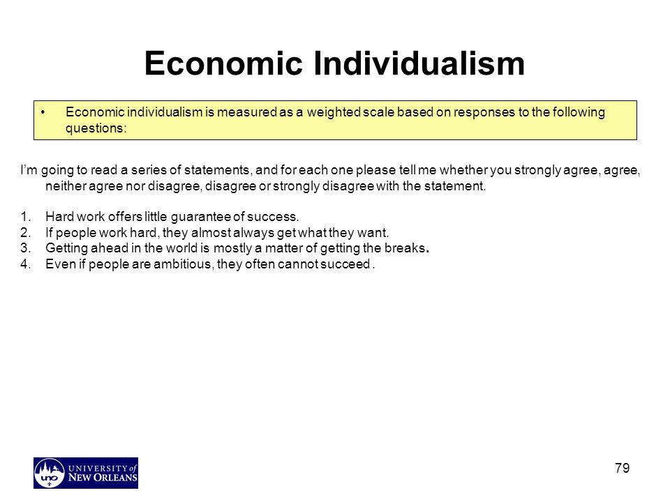 Economic Individualism