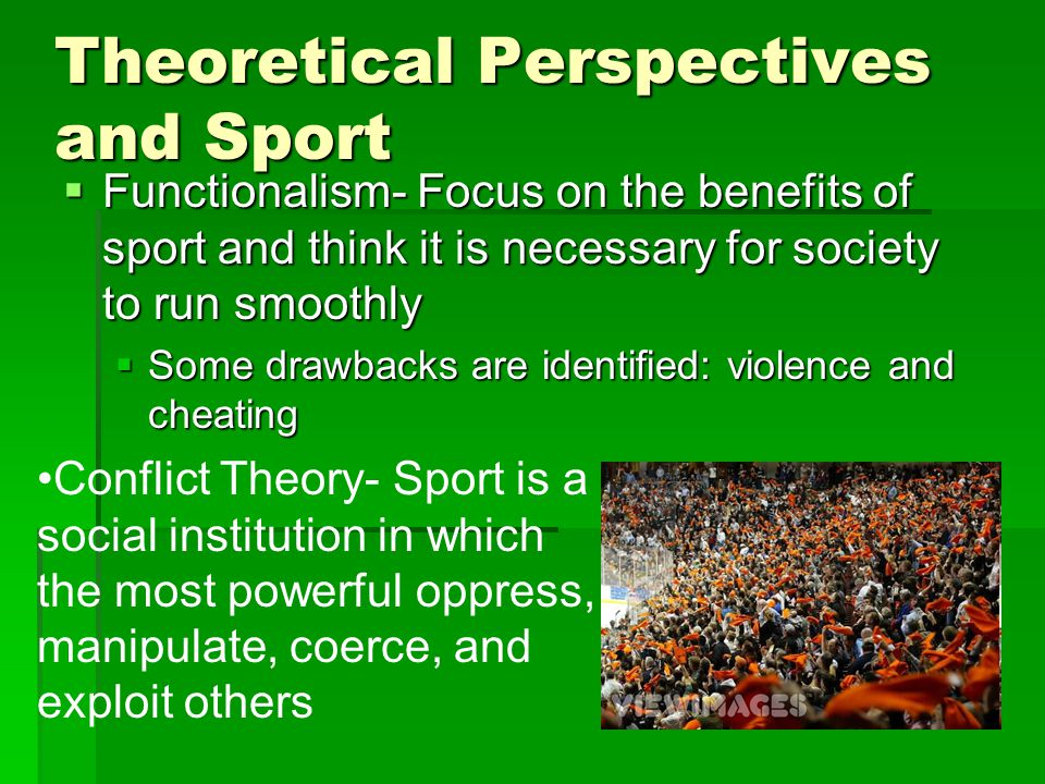 Theoretical Perspectives and Sport