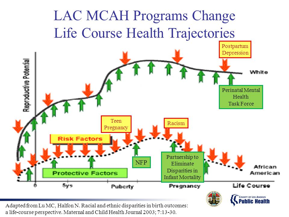 LAC MCAH Programs Change Life Course Health Trajectories