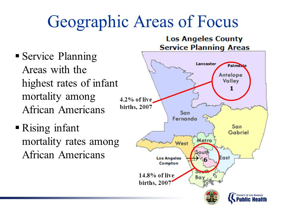 Geographic Areas of Focus