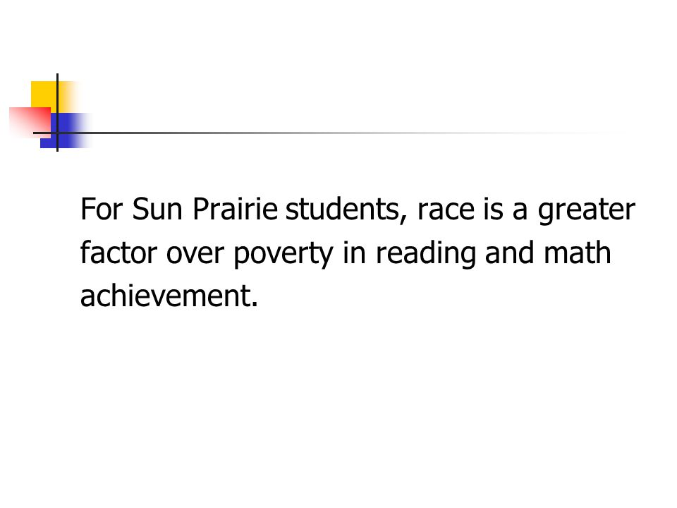 For Sun Prairie students, race is a greater