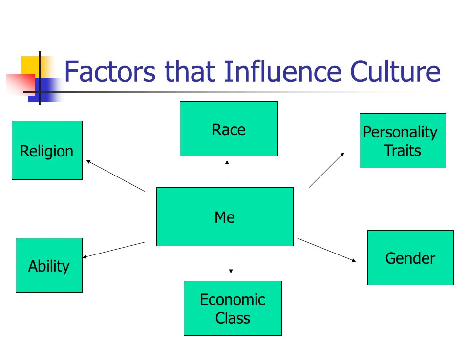 Factors that Influence Culture