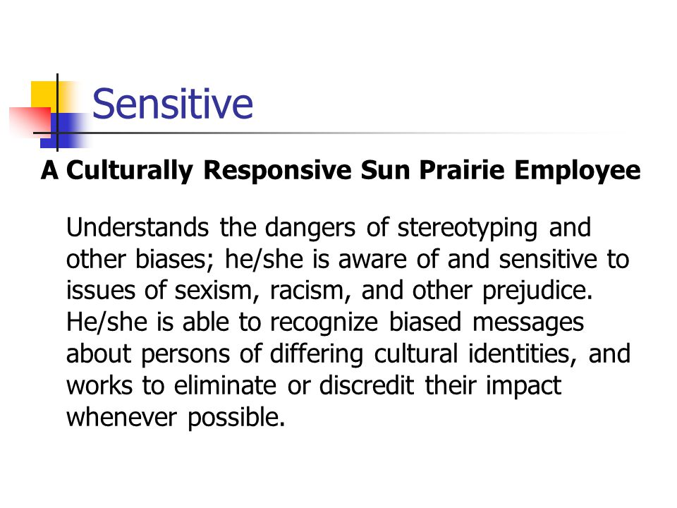 Sensitive A Culturally Responsive Sun Prairie Employee