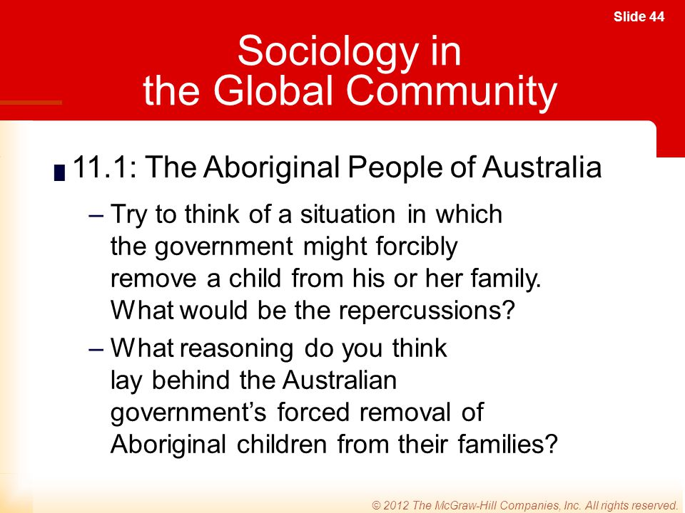 Sociology in the Global Community
