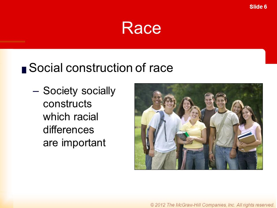 Race Social construction of race