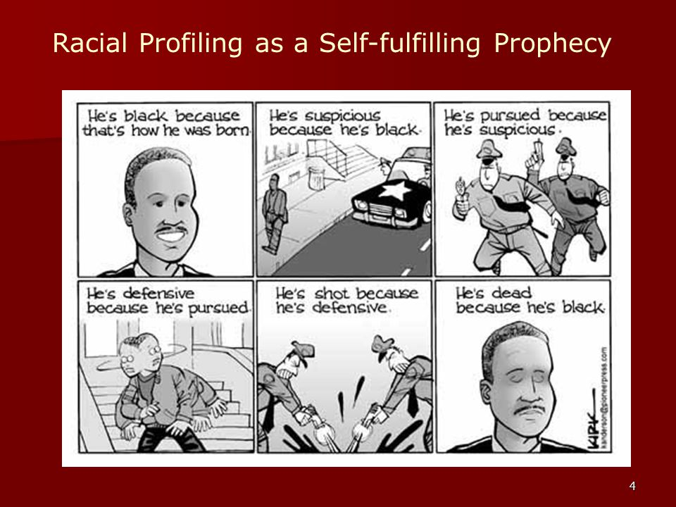 Racial Profiling as a Self-fulfilling Prophecy