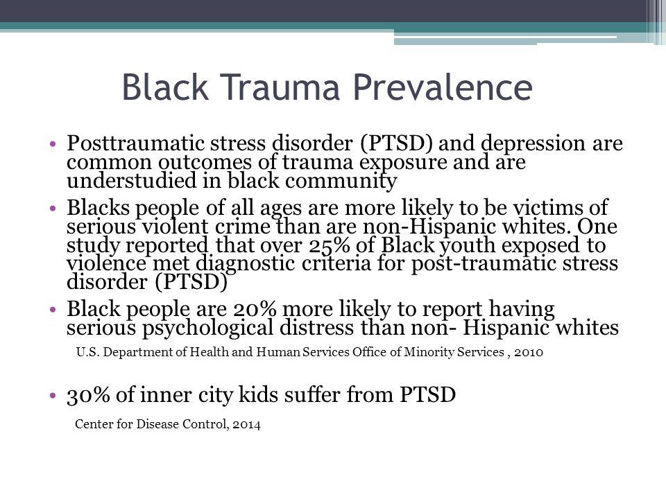 Black Trauma Prevalence
