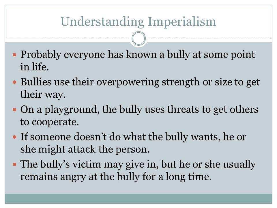 Understanding Imperialism