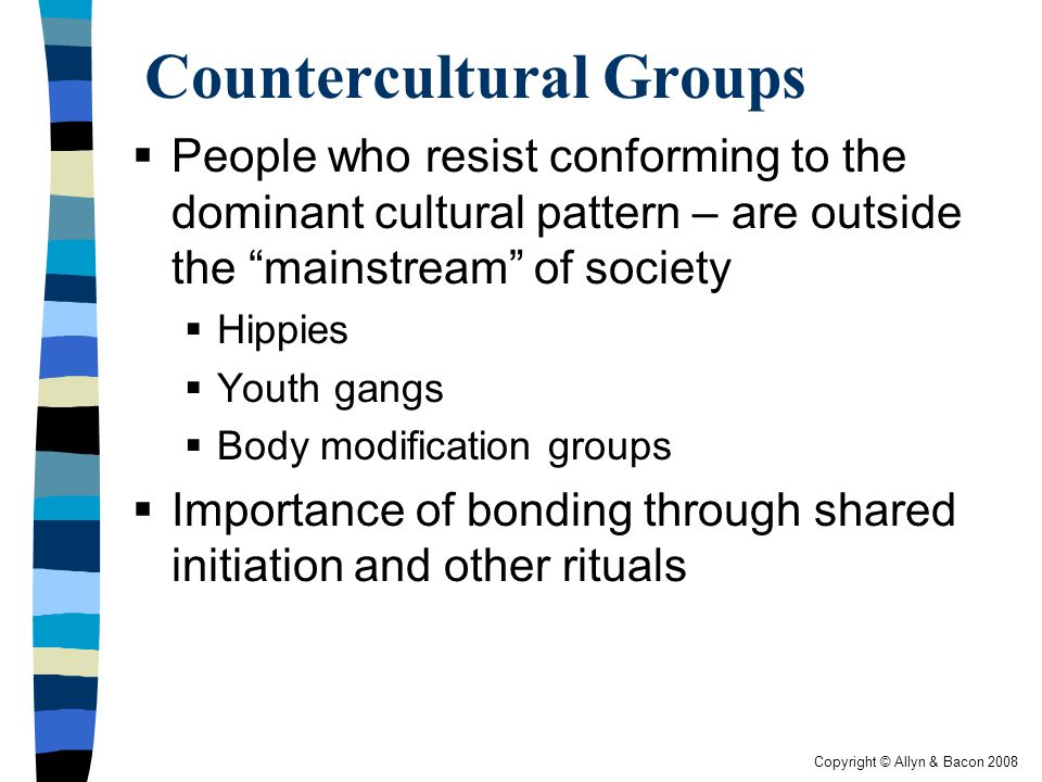 Countercultural Groups